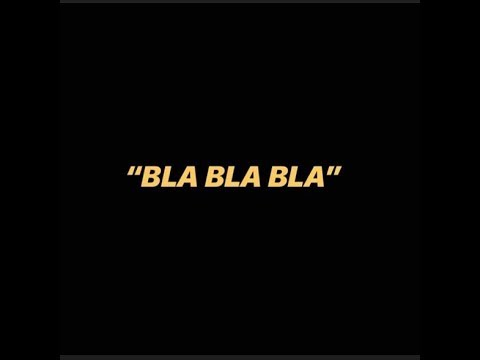 Rxnde Akozta – «BLA BLA BLA»
