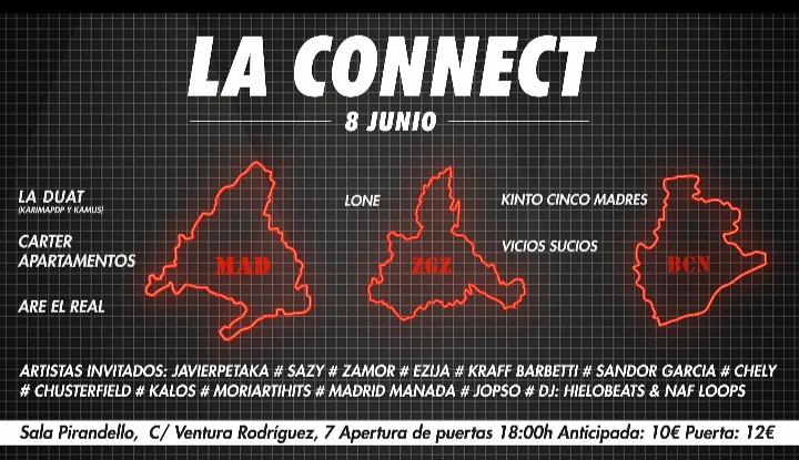 LA CONNECT una fiesta para devolver el espíritu del rap underground