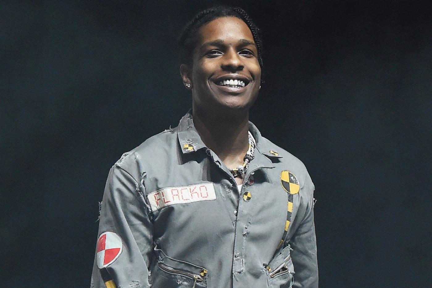 A$AP Rocky y su crew se lían a puñetazos con un individuo y es arrestado