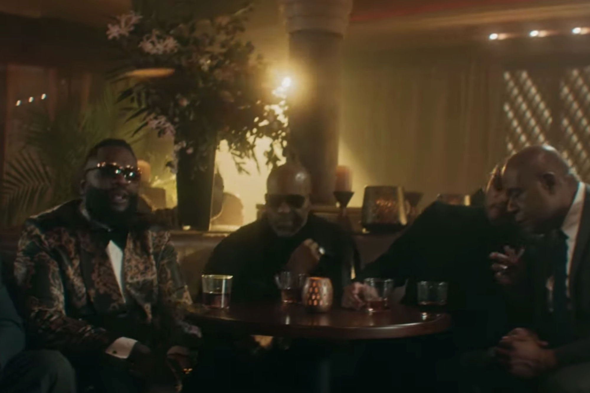 Swizz Beatz Ft Rick Ross, DMX & Godfather of Harlem – Just in Case
