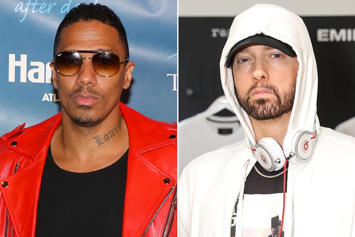 Nick Cannon junto a Suge Knight le tira beef a Eminem