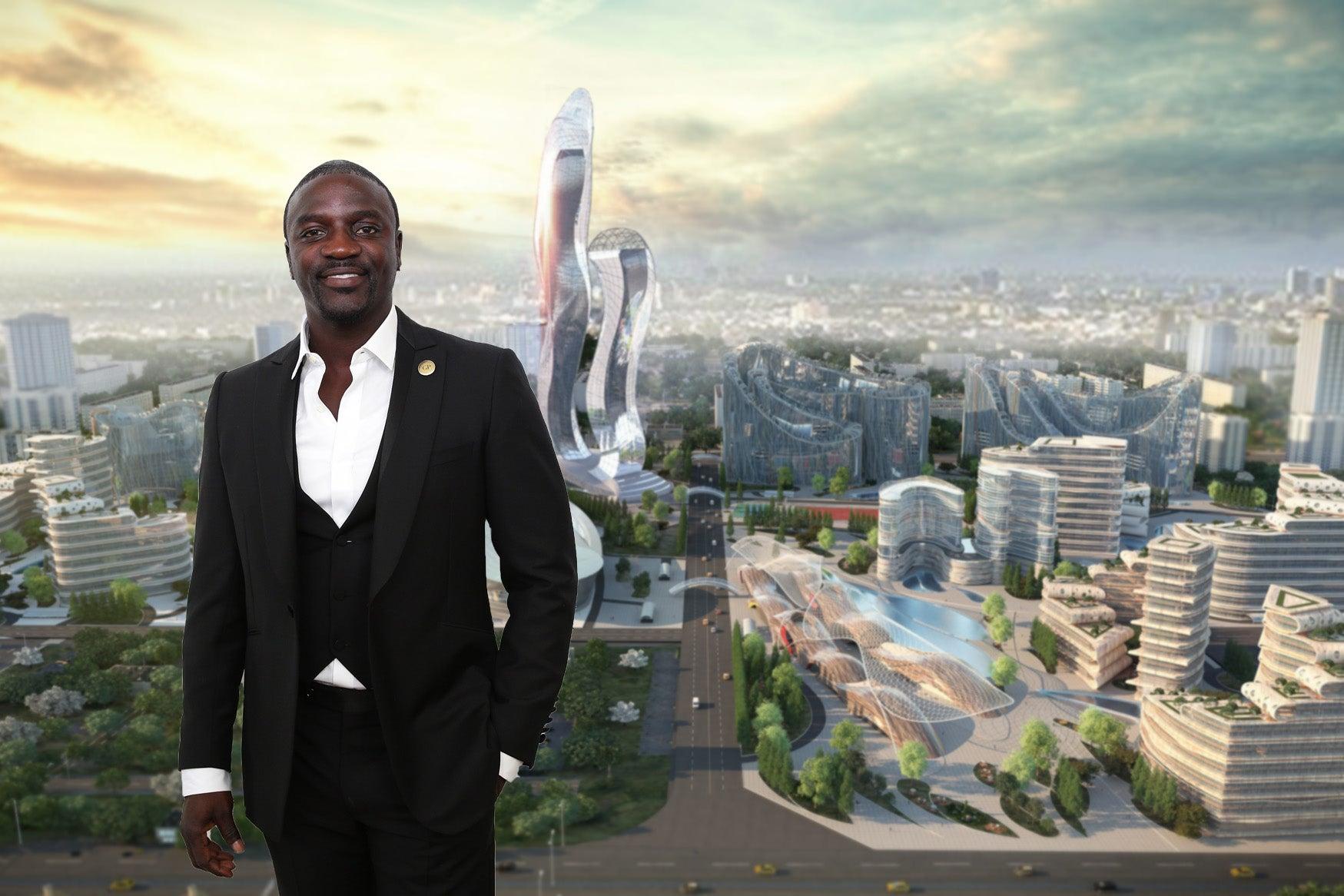 """Akon tendrá una ciudad con so nombre """"Akon City"""""""