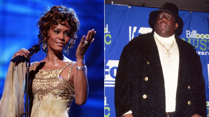 Notorious B.I.G. y Whitney Houston entrarán en el Salón del Rock and Roll