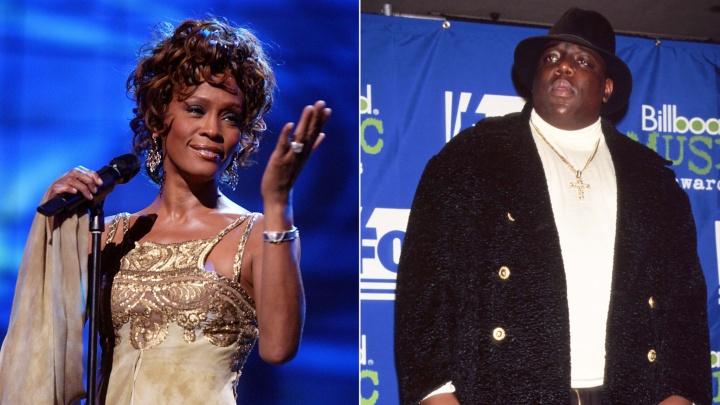 Notorious B.I.G. y Whitney Houston entrarán en el Salón del Rock and Roll