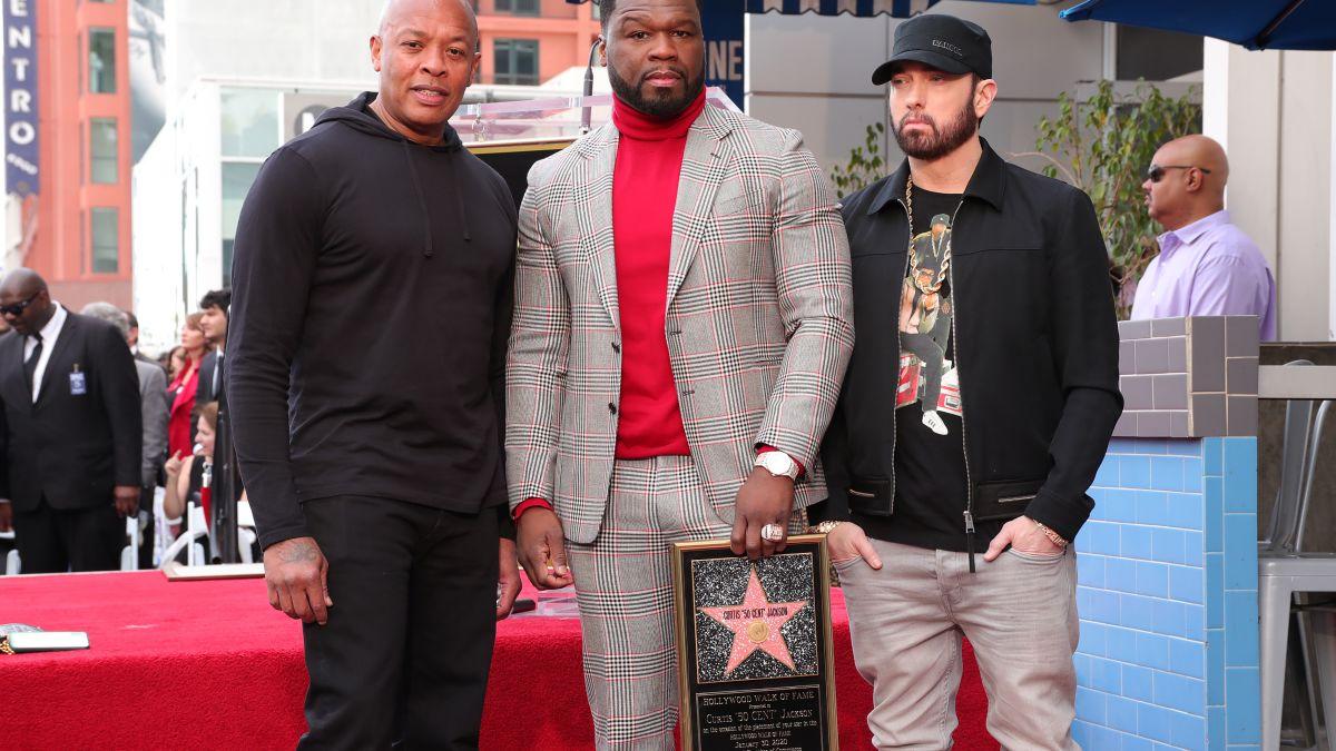 """50 Cent ya tiene su estrella en el """"Paseo de la Fama"""" de Hollywood"""