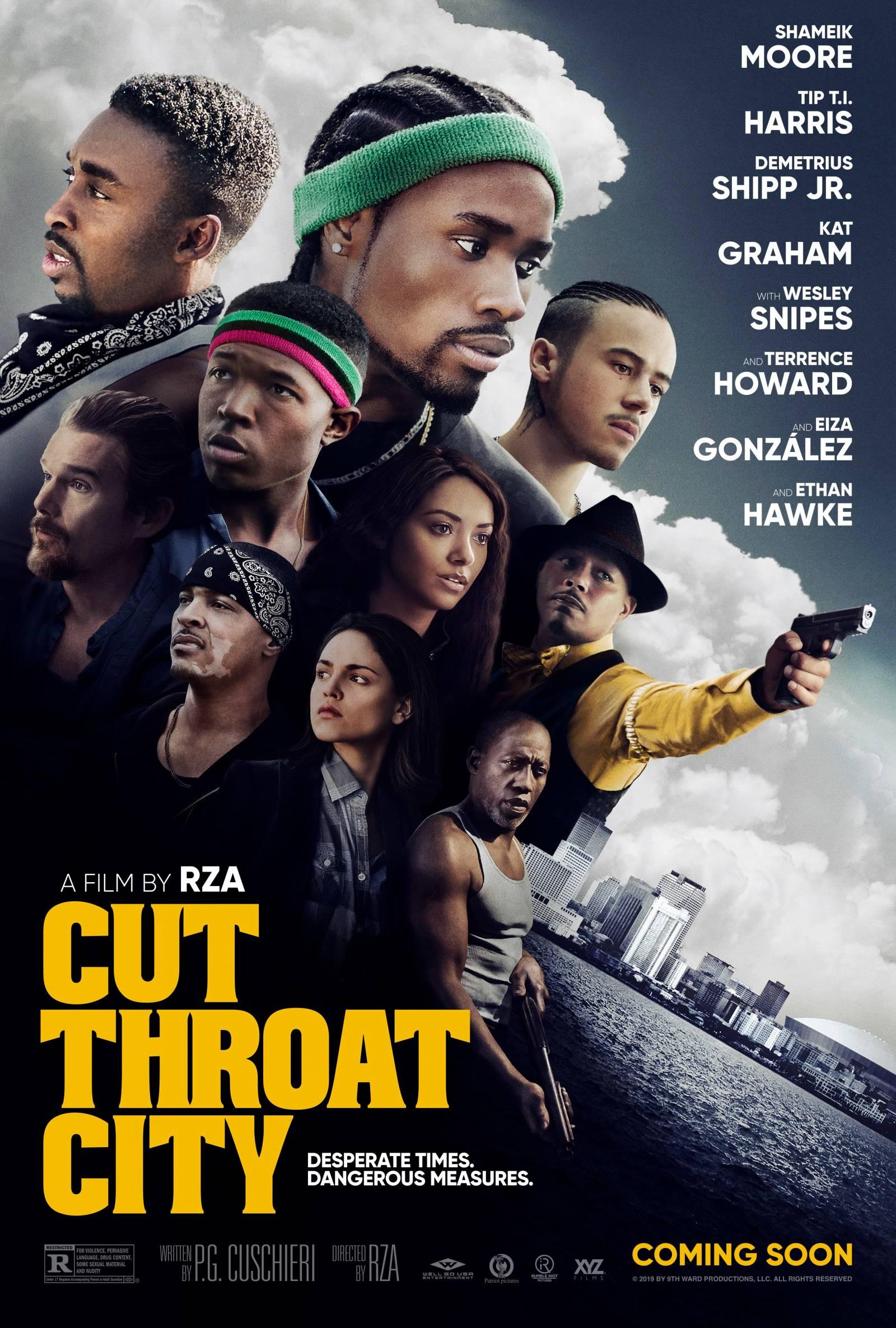"RZA estrena la película ""Cut Throat City"" este 2020"