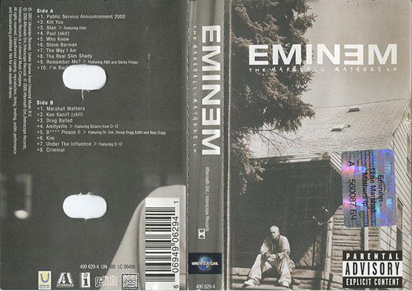 Los discos de rap made in USA más vendidos la semana de su publicación.