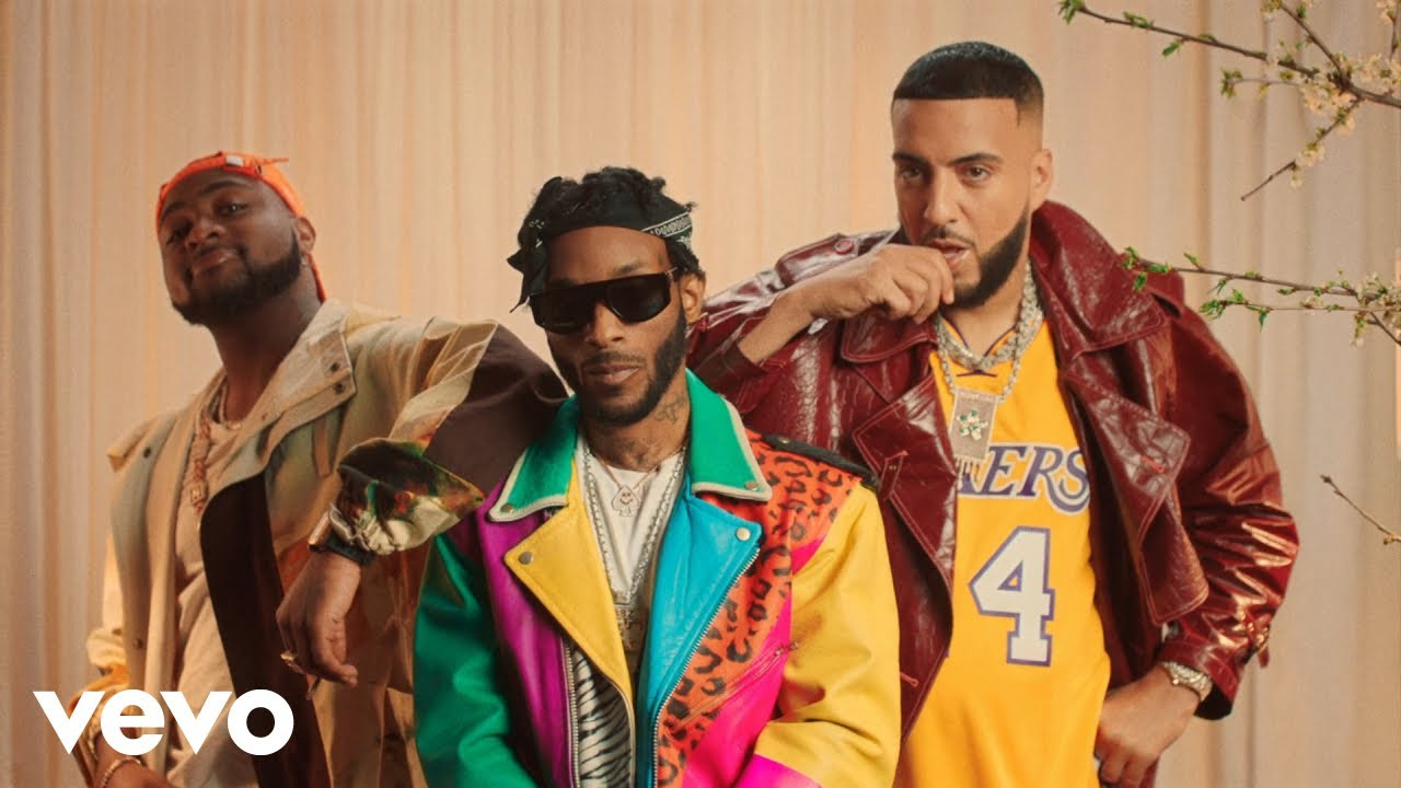 Angel Ft French Montana & Davido – Blessings (Remix)