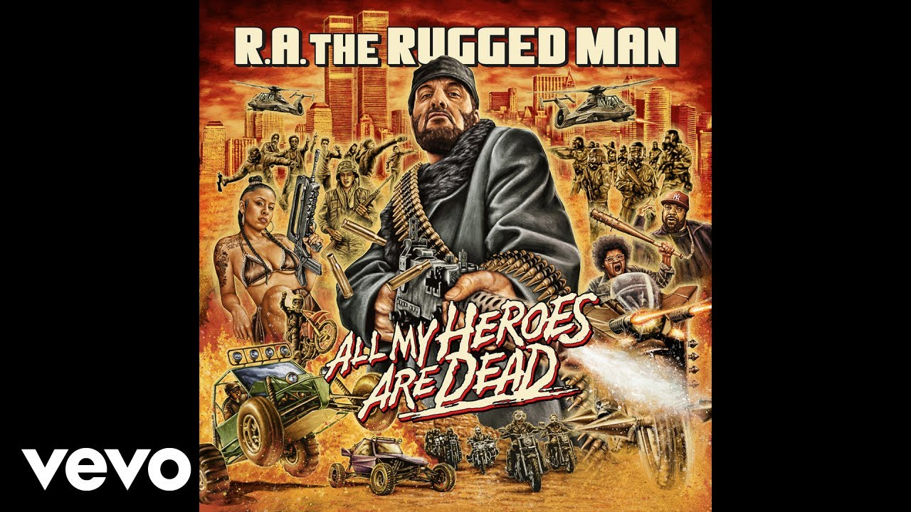 R.A. the Rugged Man Ft  M.O.P., Vinnie Paz, Onyx, Brand Nubian, Ice-T, etc.  – Slayers Club