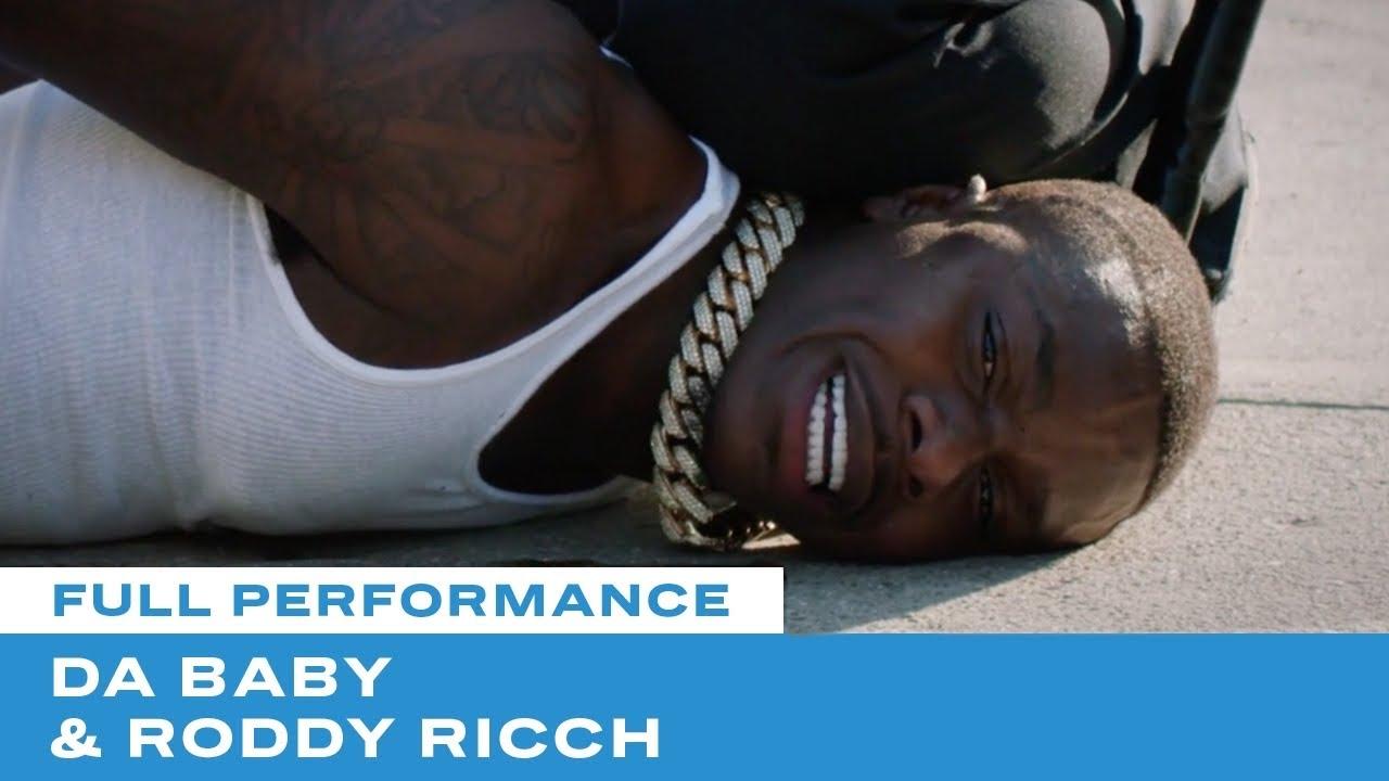 "Dababy & Roddy Ricch –  ""Rockstar"" Performance"