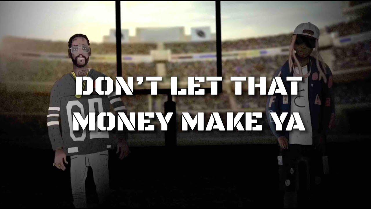2 Chainz Ft Lil Wayne – Money Maker (Animated Lyric Video)