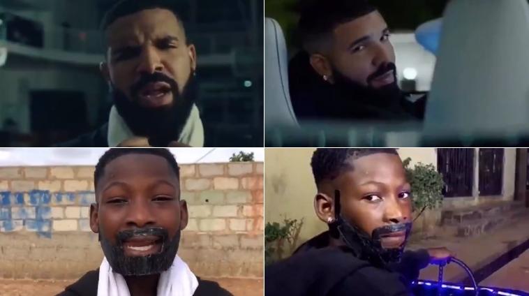 Niños nigerianos recrean el nuevo vídeo de Drake y se vuelve viral en Internet