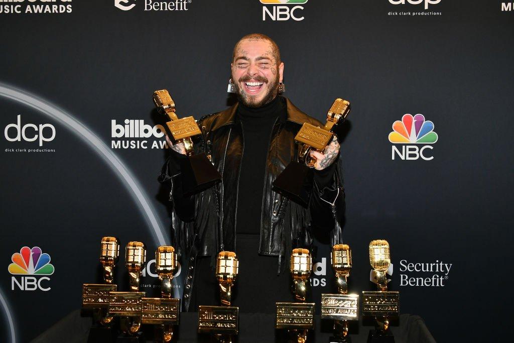 Post Malone gran triunfador en los Billboard Music Awards