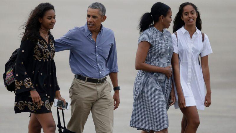 La hija de Barack Obama se vuelve viral en internet