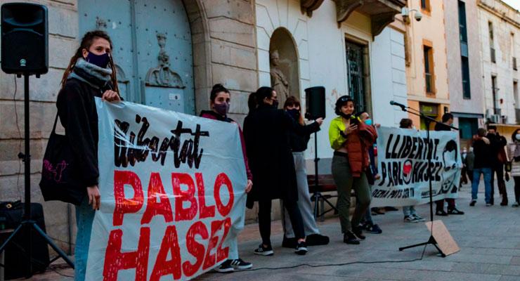 Pablo Hasel comunica que no ingresará voluntariamente en prisión