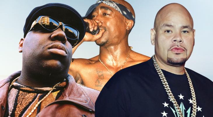 Fat Joe revela que grabó varias canciones con Biggie en las que se «burlaban» de Tupac