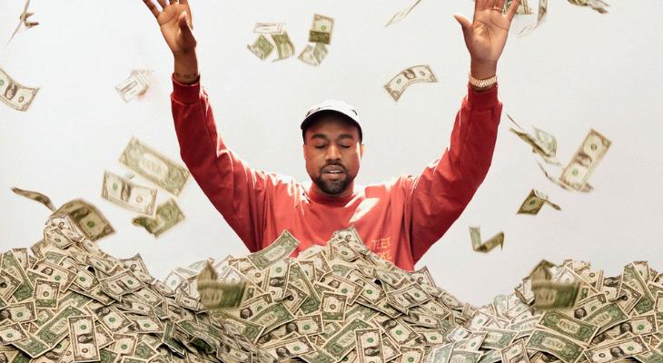 Kanye West, se convierte en uno de los afroamericanos más ricos de EE.UU
