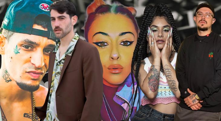 Pilla lo nuevo de Dasilva, Flor de Rap, Proof, Sule B y El Jincho